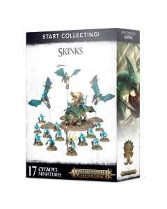 Warhammer Age Of Sigmar - Start Collecting! Skinks - GW-70-72