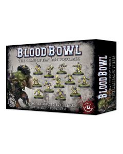 Bloodbowl -- The Scarcrag Snivellers -- GW-200-27