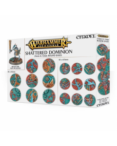 Warhammer - AOS: Shattered Dominion: 25 & 32Mm Round - GW-66-96