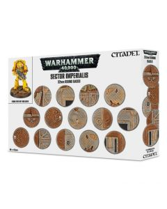 Warhammer - Sector Imperialis: 32Mm Round Bases - GW-66-91