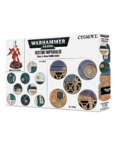 Warhammer - Sector Imperialis: 25 & 40Mm Round Bases - GW-66-92