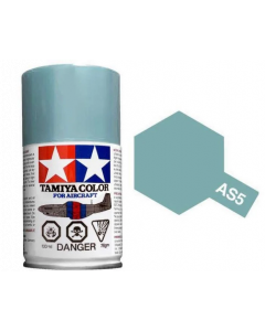 Tamiya AS-5 Light Blue (Luftwaffe) 100ml Spray Paint for Scale Models - 86505