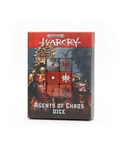 Warhammer - Warcry: Agents of Chaos Dice Set - GW-111-73