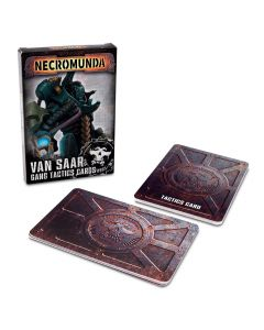 Necromunda: Van Saar Gang Tactics Cards (Second Edition) - GW-300-18