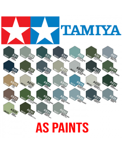 Tamiya 100ml Acrylic Spray Paint For Scale Models AS-1 to AS-32
