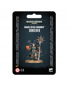 Pre-Order - Warhammer 40,000: Chaos Space Marines -  Sorcerer - GW-43-69