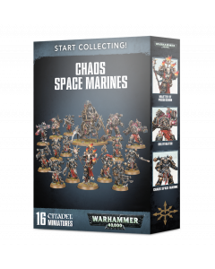Pre-Order - Warhammer 40,000: Start Collecting! Chaos Space Marines - GW-70-40