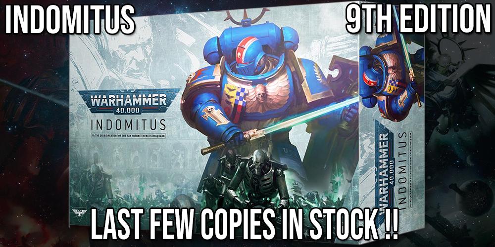 Warhammer 40k 40,000 Indomitus Box Set Wave 1 In stock
