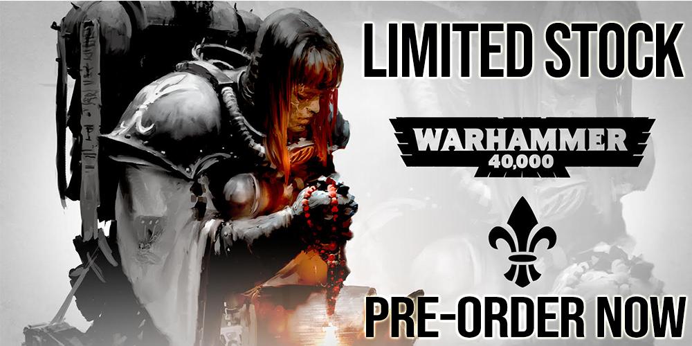 Warhammer 40,000 Sisters Of Battle Army Box Set