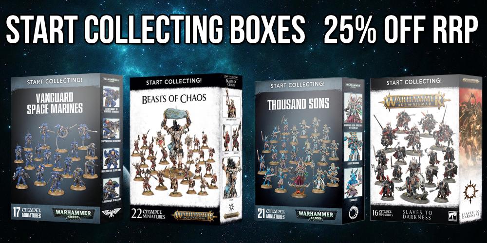 Games Workshop Start Collecting Warhammer 40,000