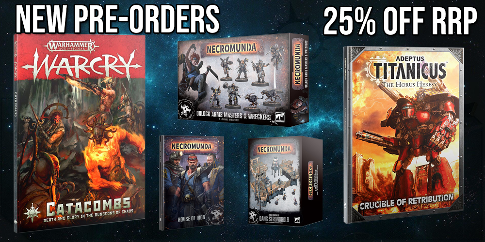 New pre-orders